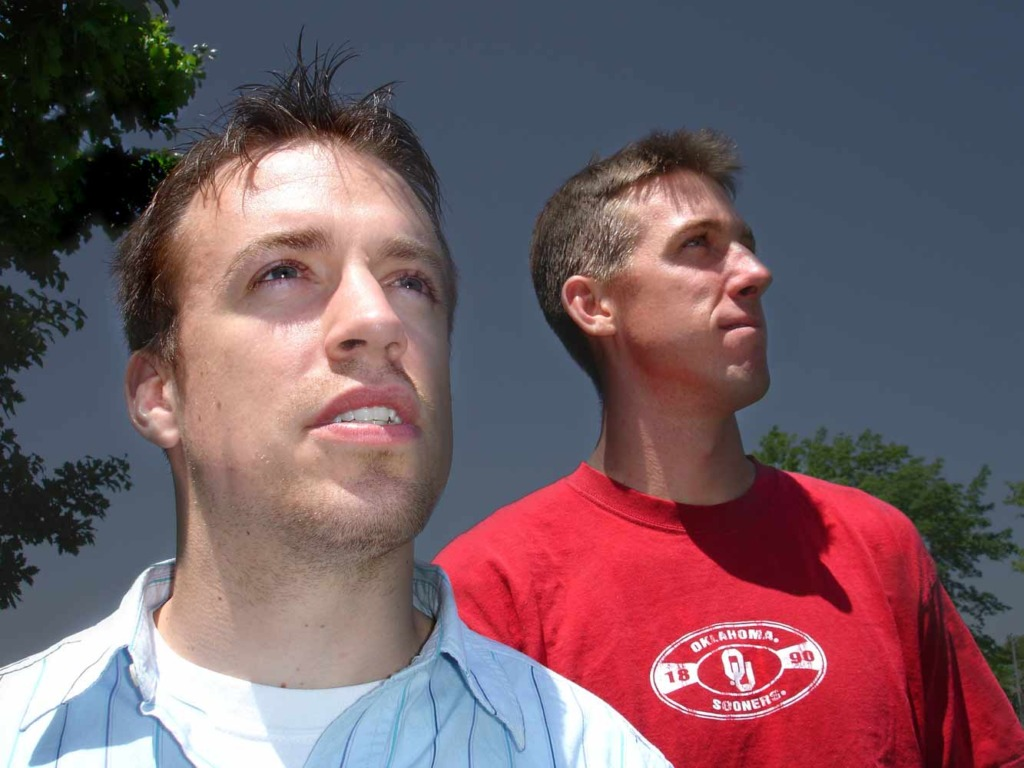 Reed Timmer and Joel Taylor in Tornado Glory