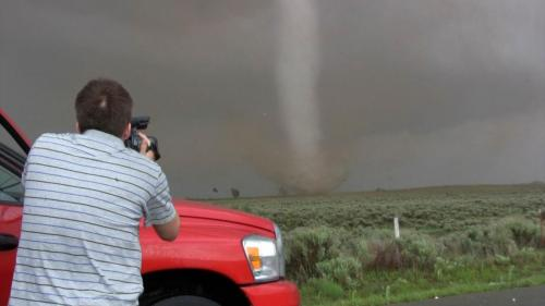 Reed in front of Ellis, Co., OK May 4 tornado